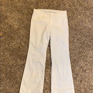 White banana republic pants